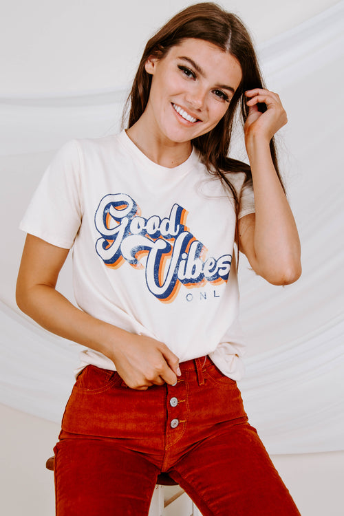 Good Vibes Only Tee