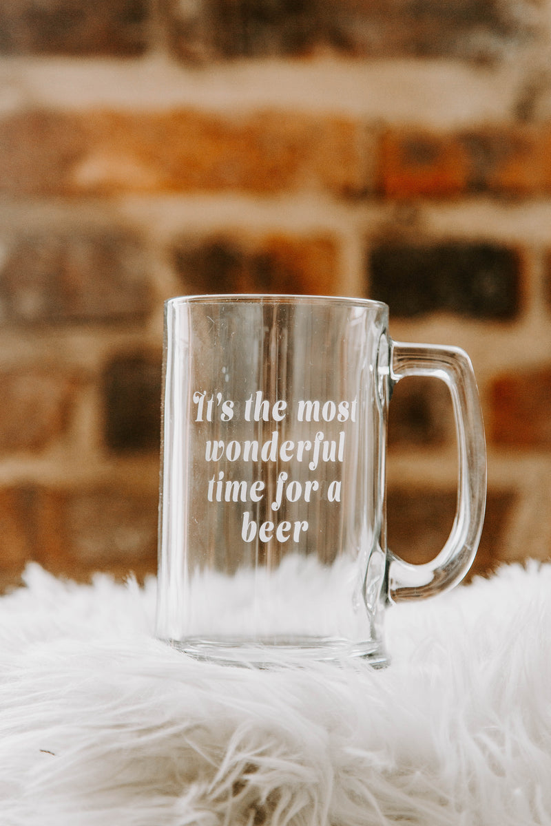 BRIGHTSIDE The Label Most Wonderful Time Mug