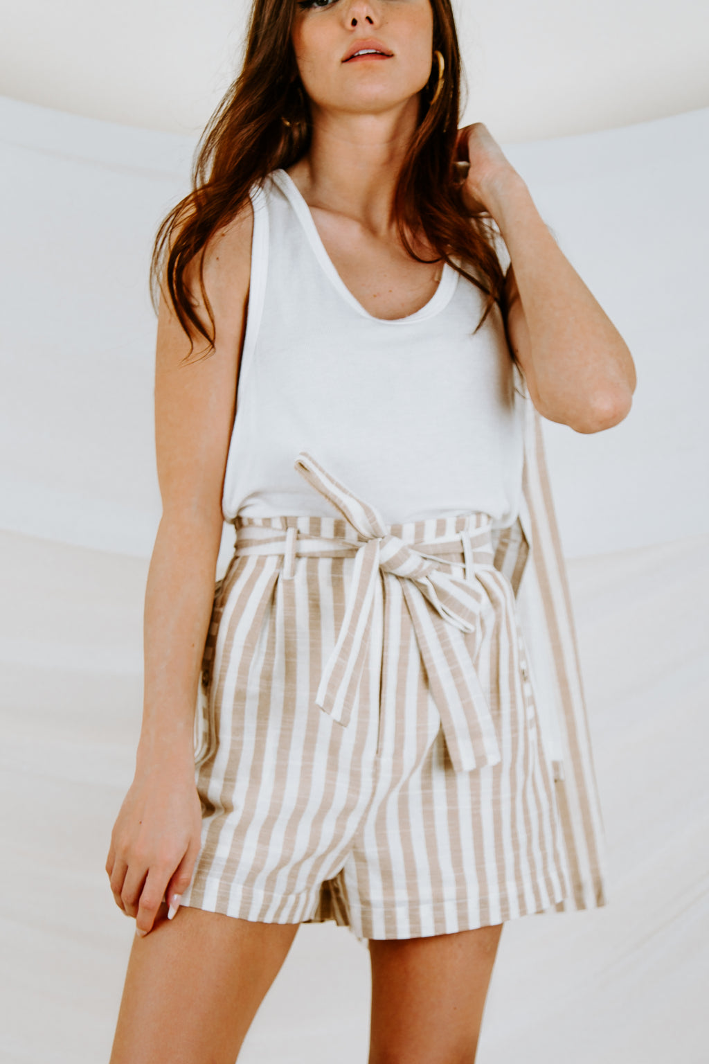 Take Me Along Striped Short