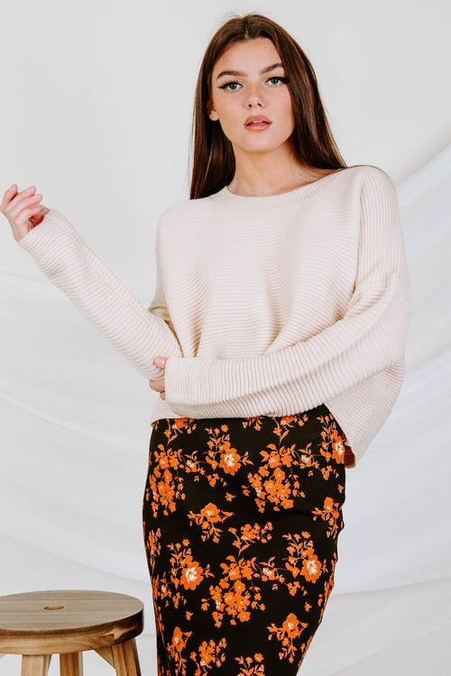 Barclay Knit Cropped Sweater