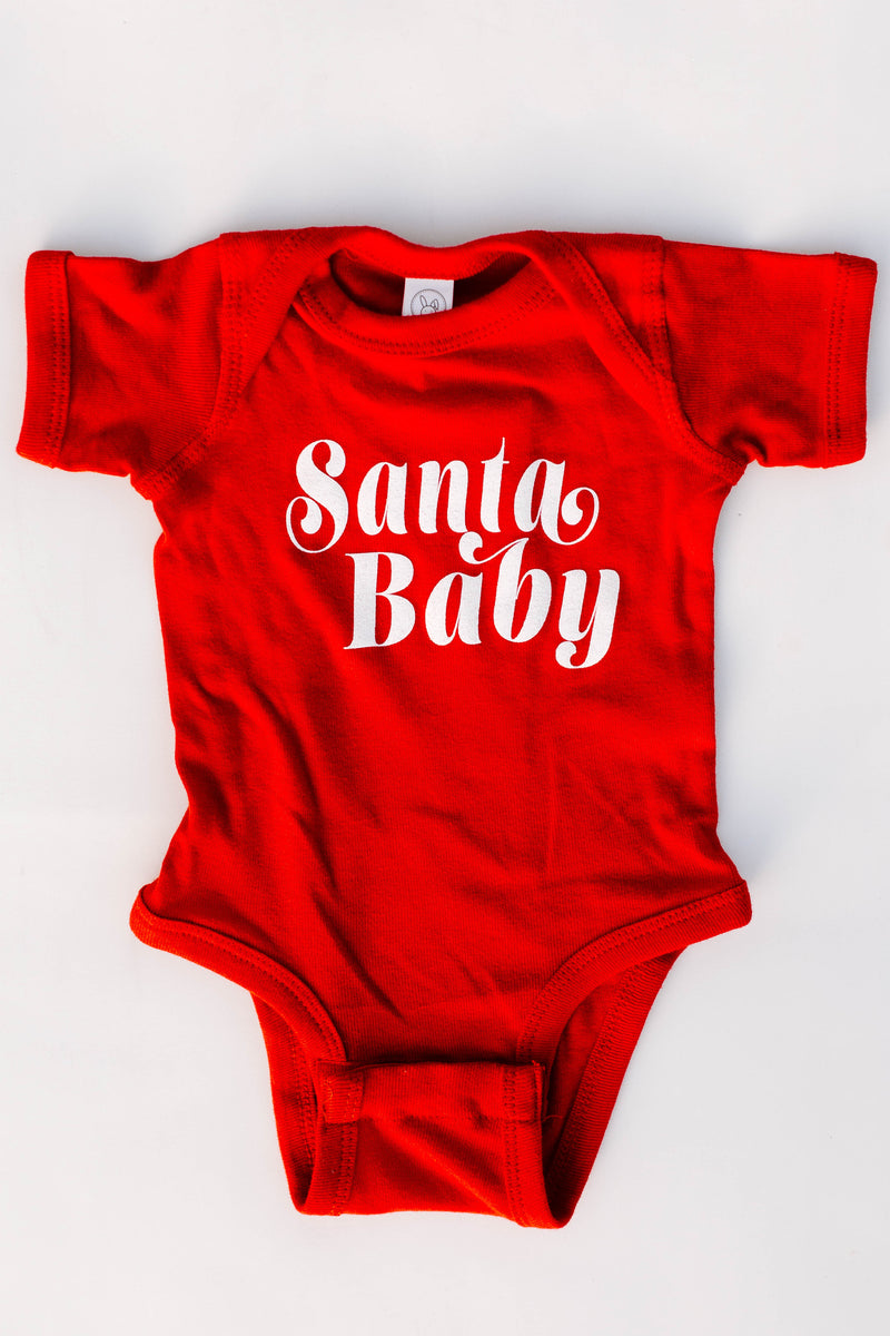 BRIGHTSIDE The Label - Santa Baby Onesie