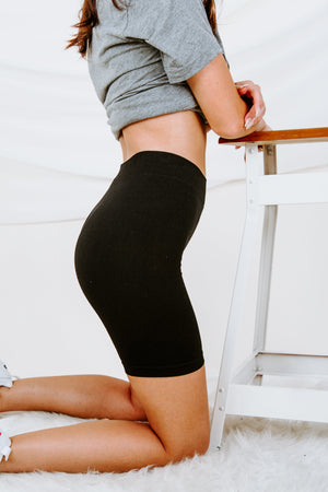 Free People Seamless Rib Bike Short