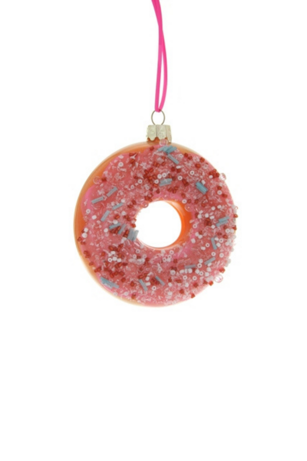 Frosted Donut Ornament