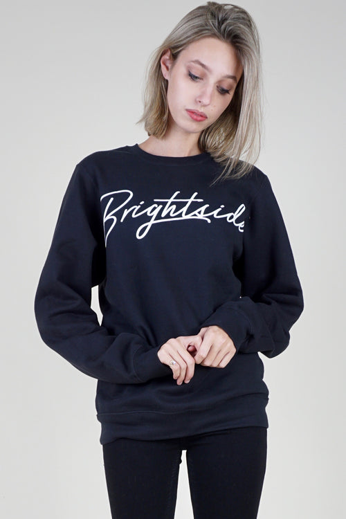 BRIGHTSIDE The Label Brightside Crewneck