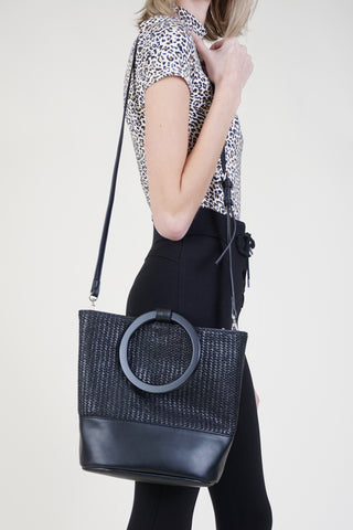 Circle Net Bag - Black