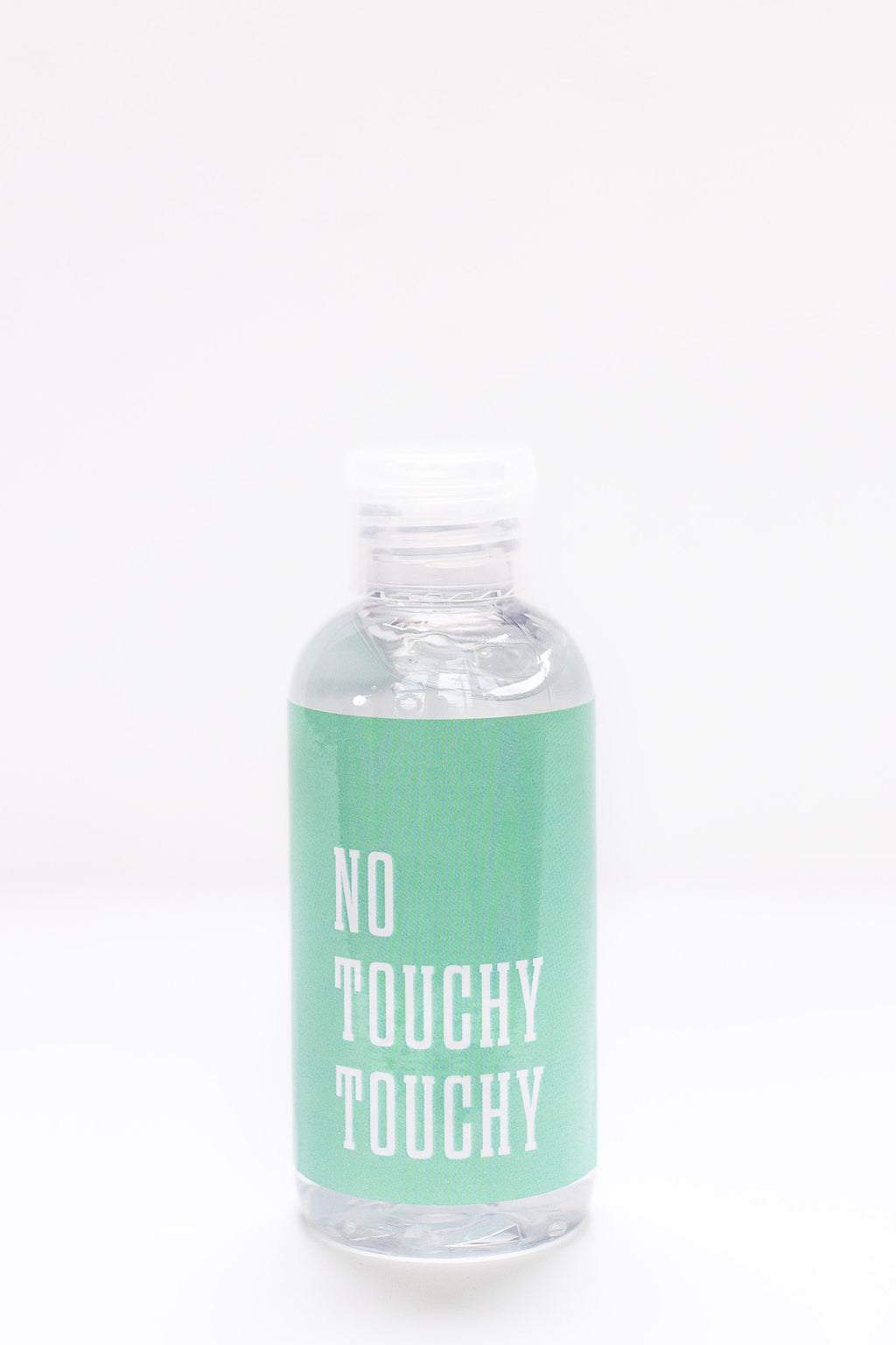 No Touchy Touchy Sanitizer