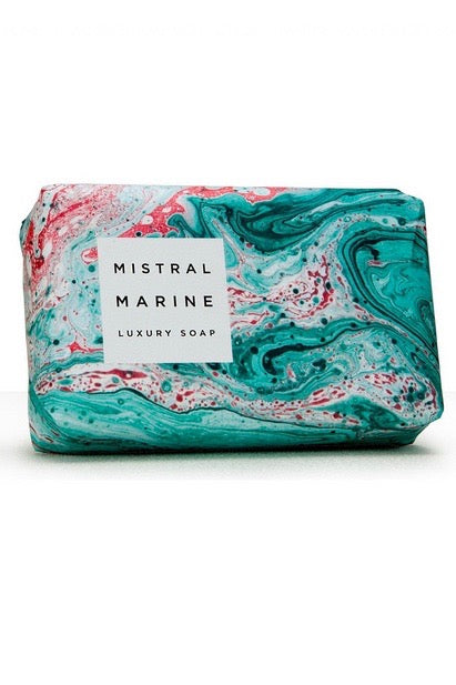 Mistral Marbles Soap - Marine