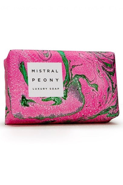 Mistral Marbles Soap - Peony