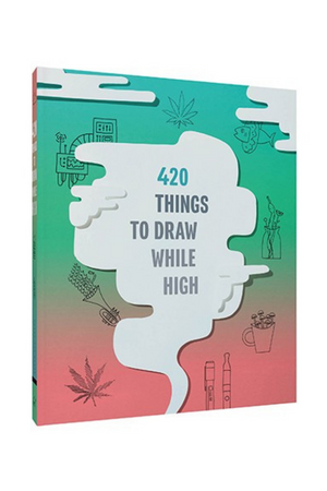420 Things to Draw While High Book
