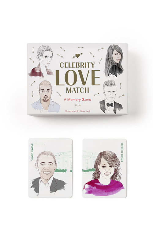 Celebrity Love Match: A Memory Game
