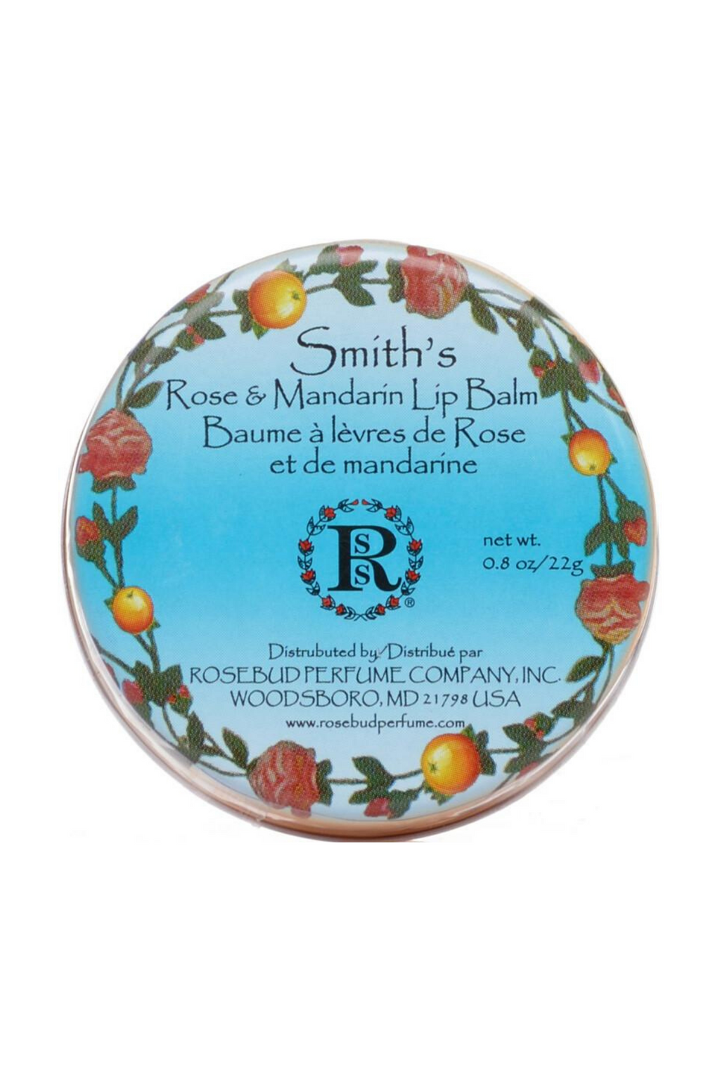 Rose Mandarin Lip Balm