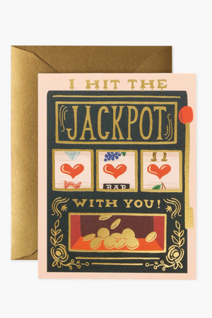 Hit The Jackpot With You Card