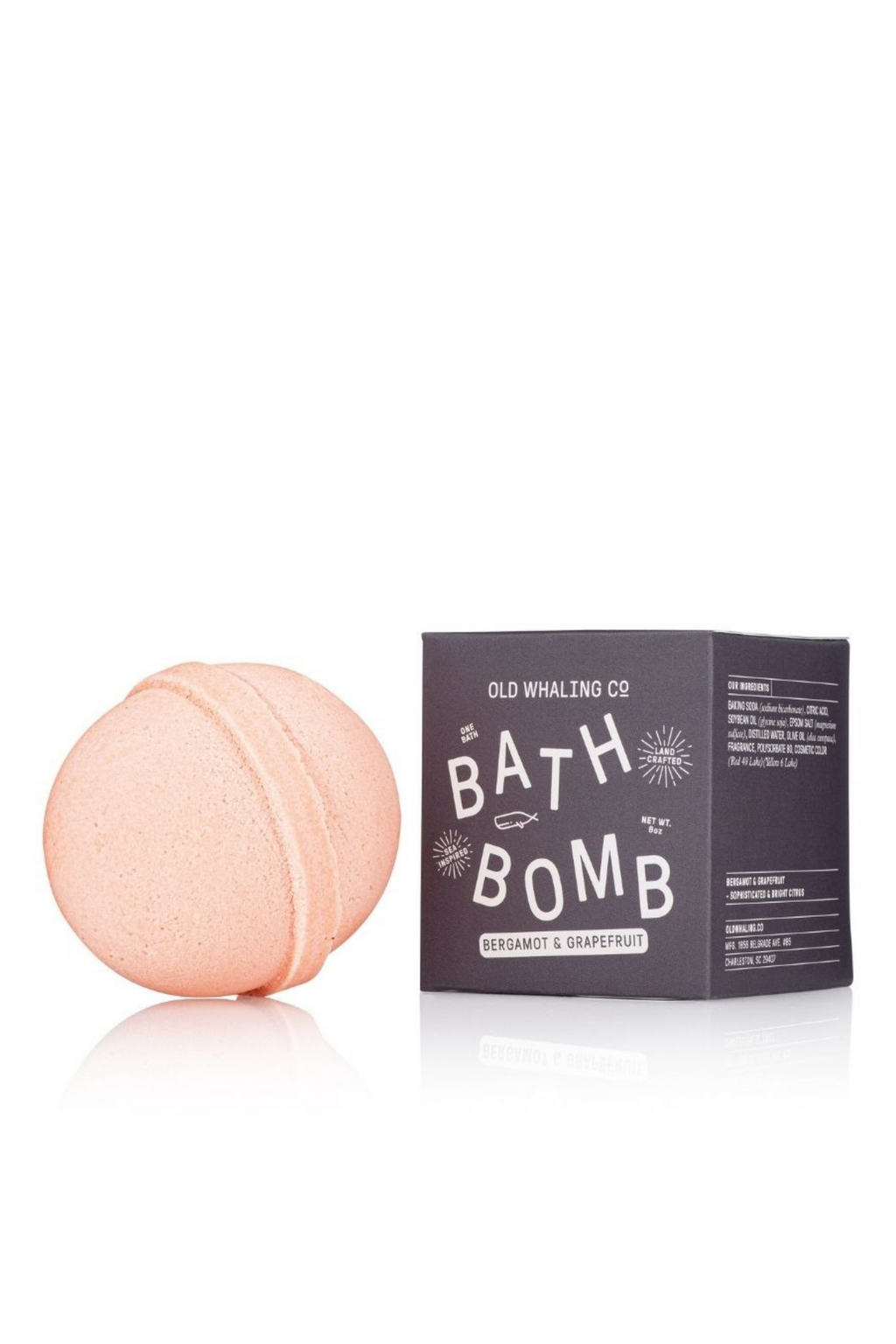 Bergamot + Grapefruit Bath Bomb