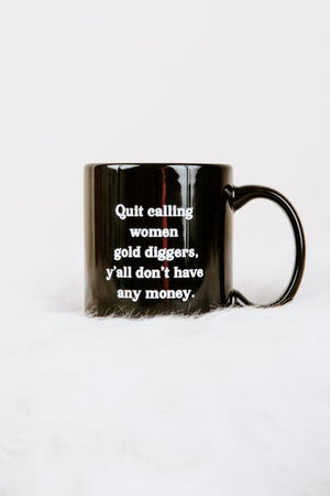 BRIGHTSIDE The Label No Money Mug
