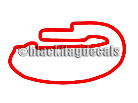 ACS Roval track map sticker