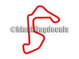 Autobahn Country Club South circuit sticker