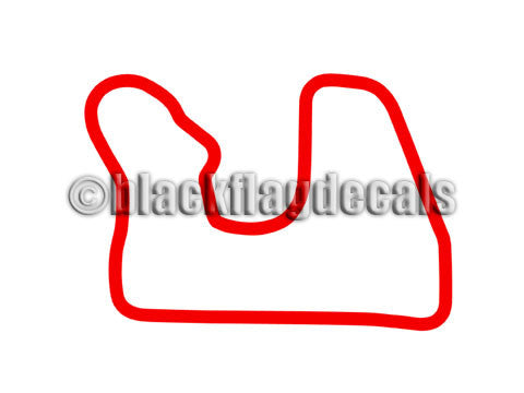 Blackhawk Farms Raceway track sticker