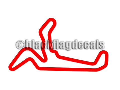 HPR full course track map sticker