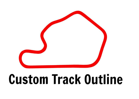 custom track outline