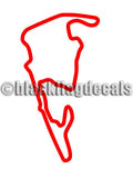 VIR Grand East track sticker