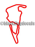 VIR Grand West course sticker