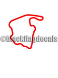 VIR North course track decal