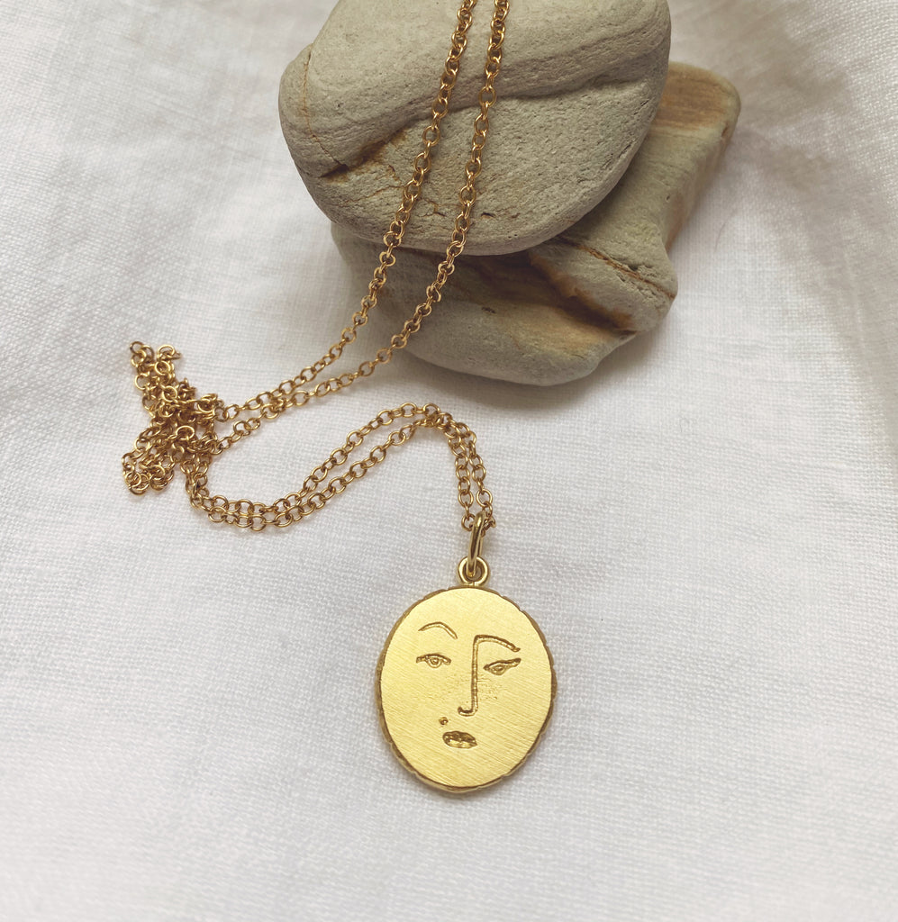 Sassy Moon Necklace // Ready to Ship