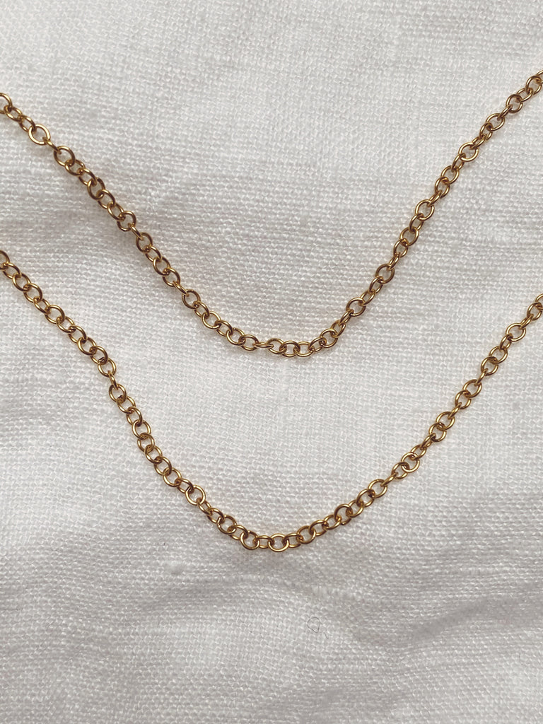 Simple Scatter Necklace