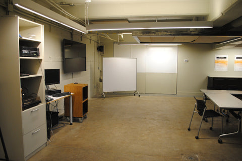Image 1 of 3 of our downstairs training room.