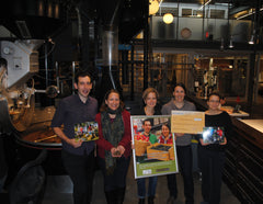 Celebrating our helping hand for Hidden Harvest at our Roastery