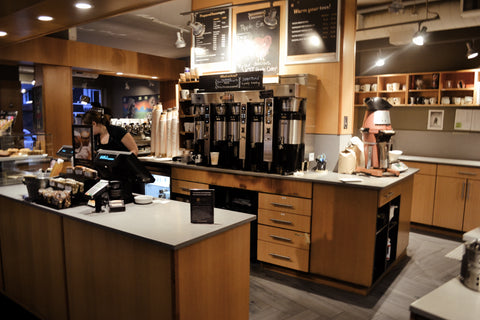 Our coffeehouse at 1024 Wellington Street West