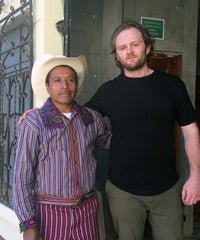Producer Ramon Pablo with Bridgehead's Cliff Hansen