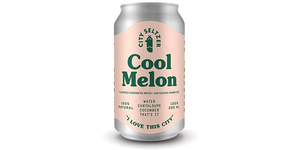 City Seltzer - Cool Melon - 6 Pack