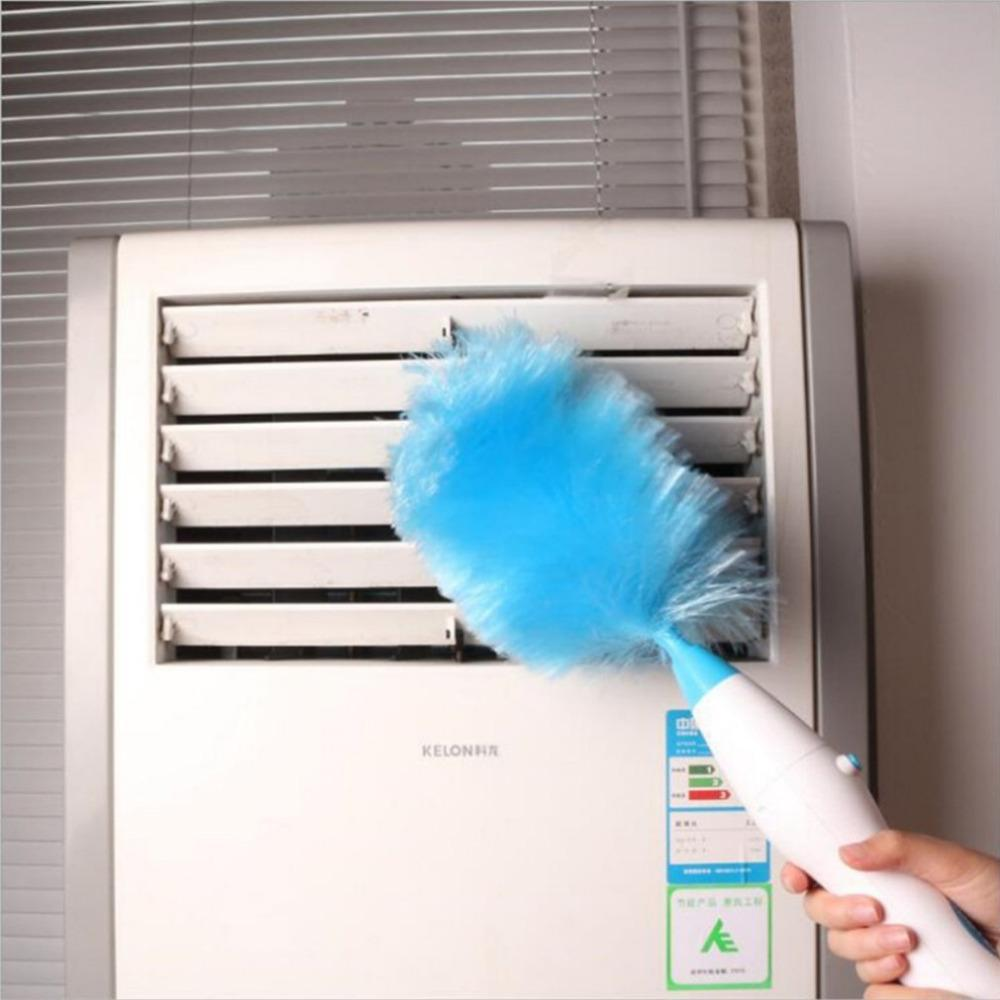 Electric Dust Mites Cleaning Feather Duster(With 3 free extension rods) - Best family assistant