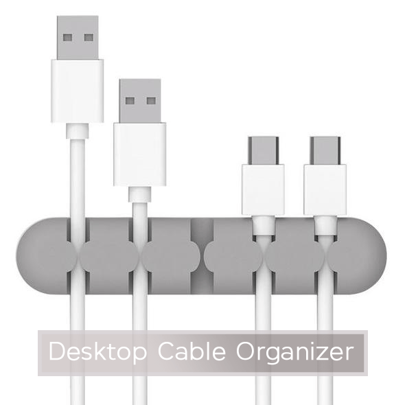 Cable Organizer - Desktop Cable Organizer