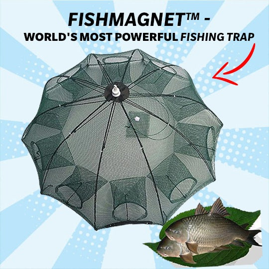 FISHING TRAP - FishMagnet™ - World's Most Powerful FISHING TRAP
