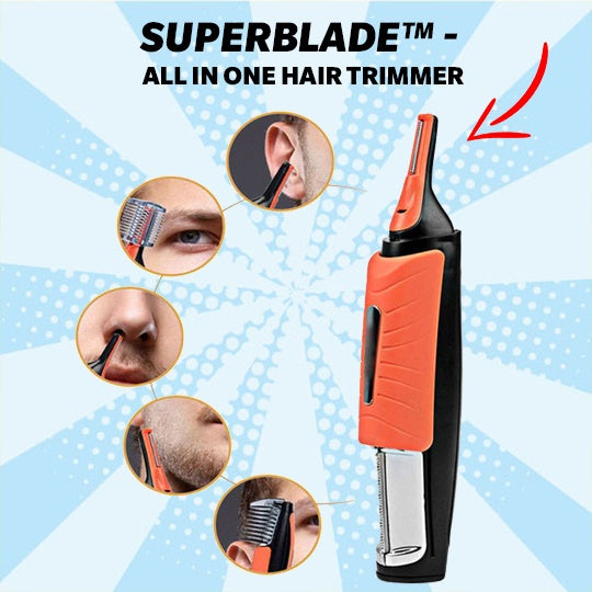 Hair Trimmer - SuperBlade™ - All In One Hair Trimmer - 60% OFF Today Only!