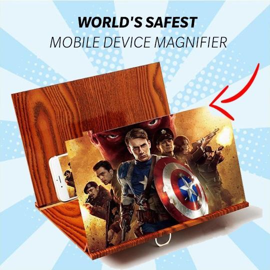 PHONE CASE - 3D Phone Magnifying Stand