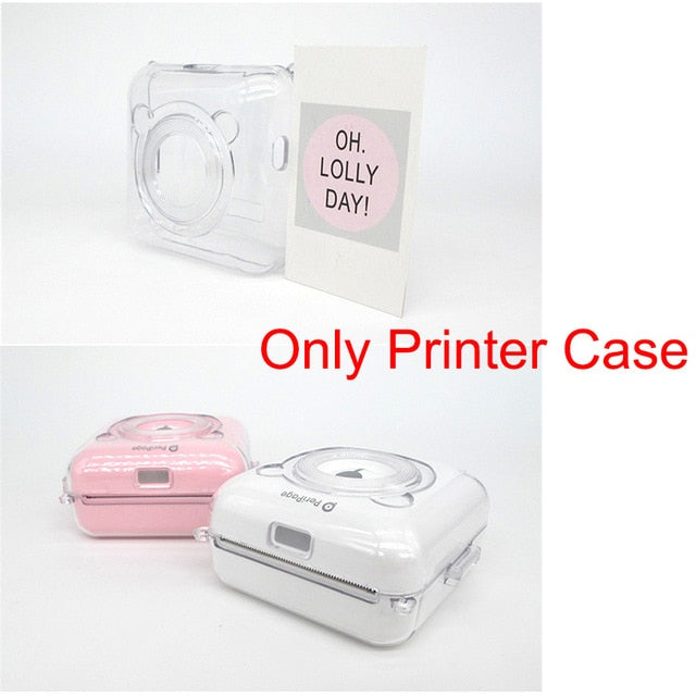 White Pink Yellow Thermal Paper label Paper Sticker Paper GZM5804 Portable Thermal Bluetooth Printer (Noted Only paper or case)