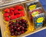GIFT BOX 4 Berry Medley and 1/2 US Cherries
