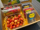 Gift Box US Rainier Cherries (half kg) and 4 Berry Medley