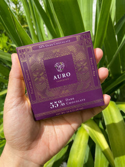 Auro 55% Dark Chocolate (50g Bar)