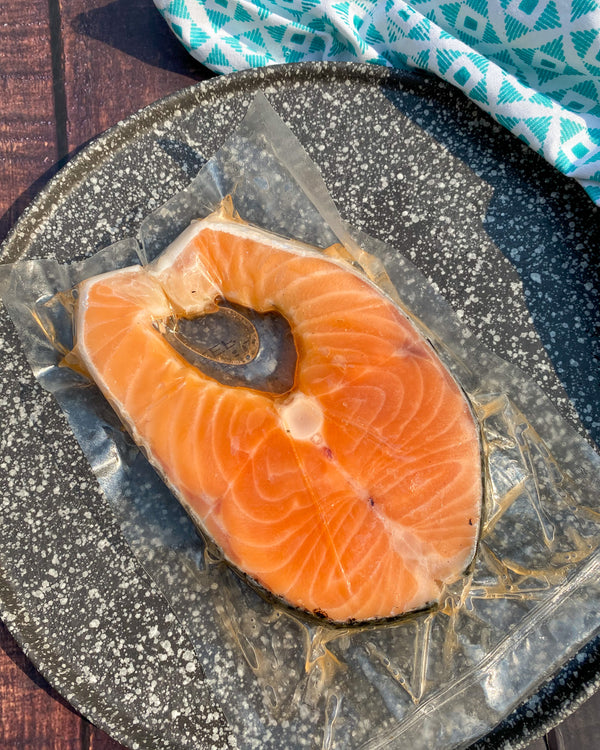 Salmon Steak Plain (250g)