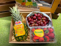 Gift Box Dole Gold Pineapple, Red Seedless Grapes, Driscoll's Strawberries