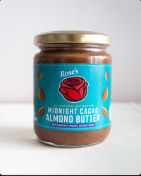 Rose's Kitchen Midnight Cacao Almond Butter 200g