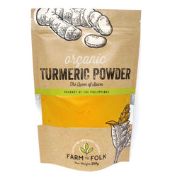 ORGANIC 100% PURE TURMERIC POWDER