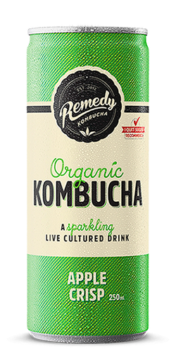 Remedy Kombucha - Apple Crisp - 250ML