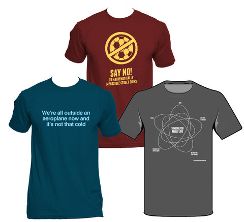 Festival of the Spoken Nerd T-shirts