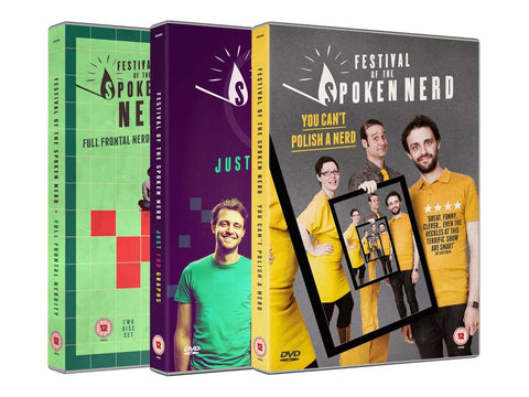 Festival Of The Spoken Nerd DVDs and downloads
