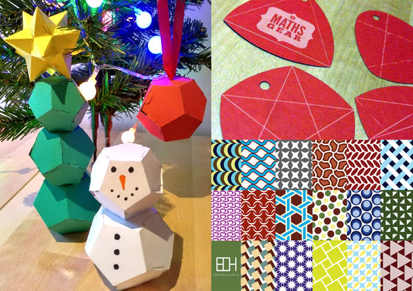 Maths Gear Christmas Crackers Self Assembly Mathematical Curiosities Games And Gifts
